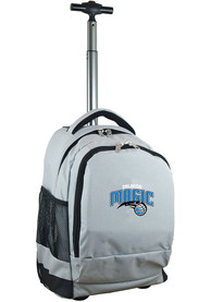 Orlando Magic Wheeled Premium Backpack - Grey