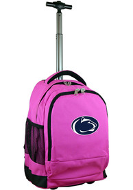 Penn State Nittany Lions Wheeled Premium Backpack - Pink