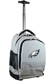 Philadelphia Eagles Wheeled Premium Backpack - Grey