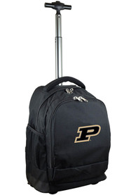 Purdue Boilermakers Wheeled Premium Backpack - Black