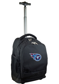 Tennessee Titans Wheeled Premium Backpack - Black