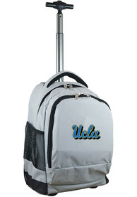 UCLA Bruins Wheeled Premium Backpack - Grey