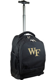 Wake Forest Demon Deacons Wheeled Premium Backpack - Black