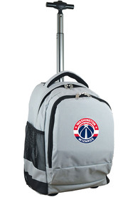 Washington Wizards Wheeled Premium Backpack - Grey