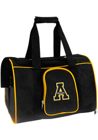 Appalachian State Mountaineers Black 16 Pet Carrier Luggage