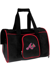 Atlanta Braves Black 16 Pet Carrier Luggage