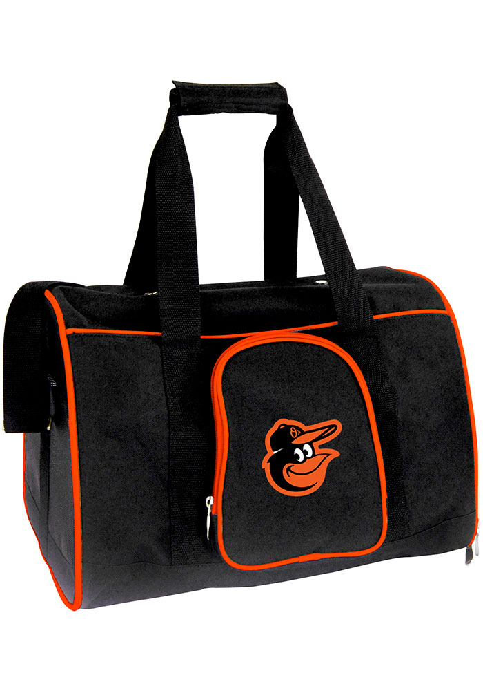 Baltimore Orioles Black 16 Pet Carrier Luggage - Image 1