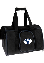 BYU Cougars Black 16 Pet Carrier Luggage
