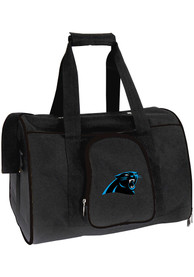 Carolina Panthers Black 16 Pet Carrier Luggage