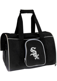 Chicago White Sox Black 16 Pet Carrier Luggage