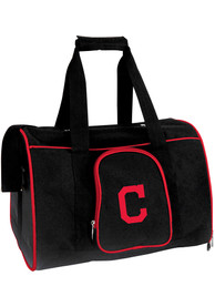 Cleveland Indians Black 16 Pet Carrier Luggage