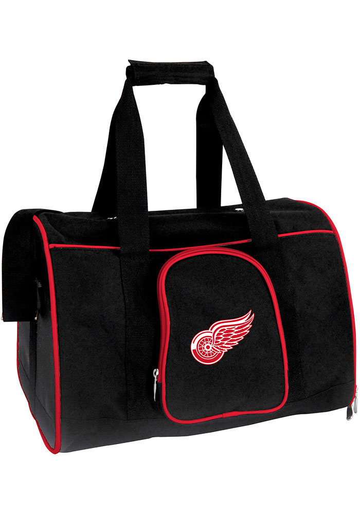 Detroit Red Wings Black 16 Pet Carrier Luggage - Image 1
