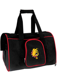 Ferris State Bulldogs Black 16 Pet Carrier Luggage