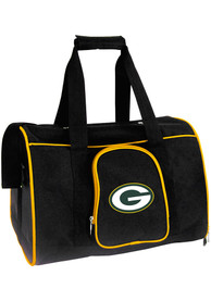 Green Bay Packers Black 16 Pet Carrier Luggage
