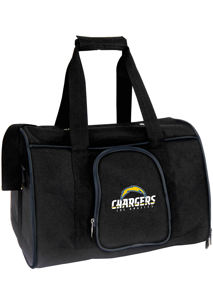 Los Angeles Chargers Black 16 Pet Carrier Luggage - Image 1
