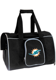 Miami Dolphins Black 16 Pet Carrier Luggage
