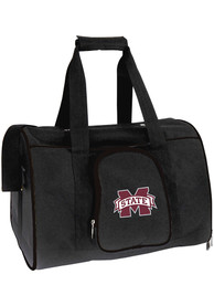 Mississippi State Bulldogs Black 16 Pet Carrier Luggage
