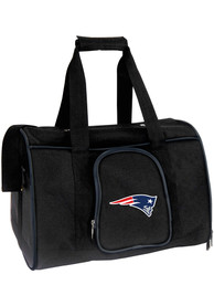 New England Patriots Black 16 Pet Carrier Luggage