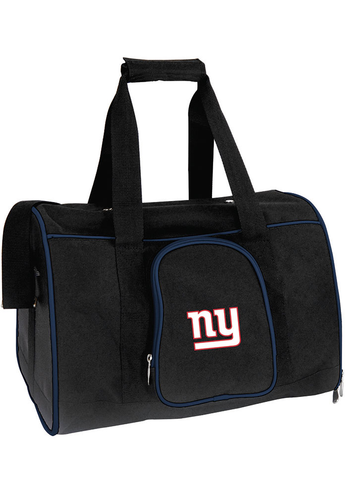 New York Giants Black 16g Pet Carrier Luggage - Image 1