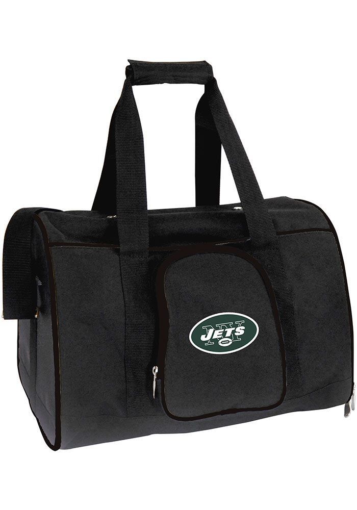 New York Jets Black 16g Pet Carrier Luggage - Image 1