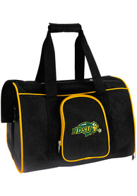 North Dakota State Bison Black 16 Pet Carrier Luggage