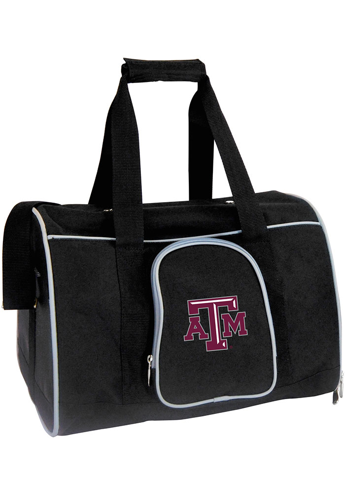 Texas A&M Aggies Black 16 Pet Carrier Luggage - Image 1