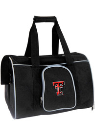 Texas Tech Red Raiders Black 16 Pet Carrier Luggage