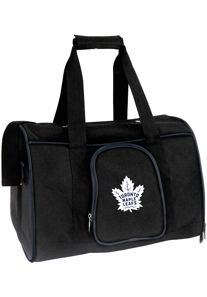 Toronto Maple Leafs Black 16 Pet Carrier Luggage 19644524