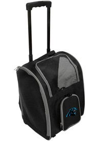 Carolina Panthers Black Premium Pet Carrier Luggage