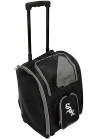 Chicago White Sox Black Premium Pet Carrier Luggage