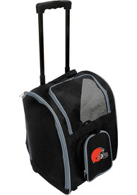 Cleveland Browns Black Premium Pet Carrier Luggage