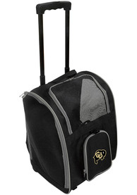 Colorado Buffaloes Black Premium Pet Carrier Luggage