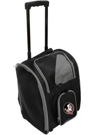 Florida State Seminoles Black Premium Pet Carrier Luggage