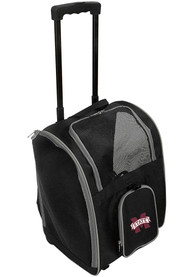 Mississippi State Bulldogs Black Premium Pet Carrier Luggage