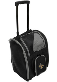 New Orleans Saints Black Premium Pet Carrier Luggage