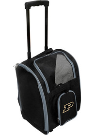 Purdue Boilermakers Black Premium Pet Carrier Luggage