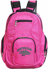 Nevada Wolf Pack 19 Laptop Backpack - Pink