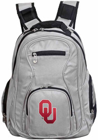 Oklahoma Sooners 19 Laptop Backpack - Grey