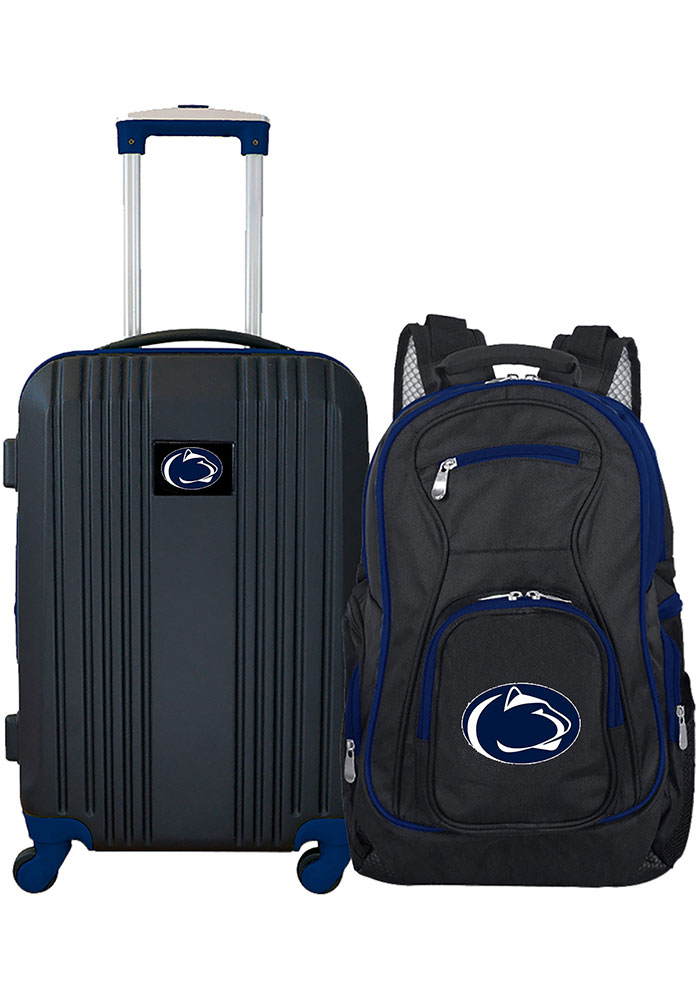 Penn State Nittany Lions Black 2-Piece Set Luggage - Image 1