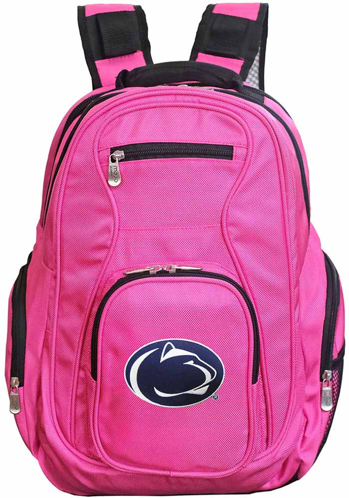 Penn State Nittany Lions Pink 19 Laptop Backpack - Image 1