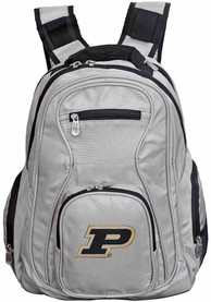 Purdue Boilermakers 19 Laptop Backpack - Grey