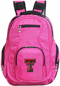 Texas Tech Red Raiders 19 Laptop Backpack - Pink