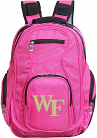 Wake Forest Demon Deacons 19 Laptop Backpack - Pink