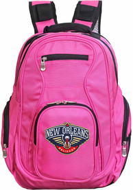 New Orleans Pelicans 19 Laptop Backpack - Pink