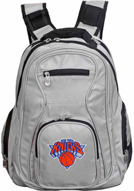 New York Knicks 19 Laptop Backpack - Grey