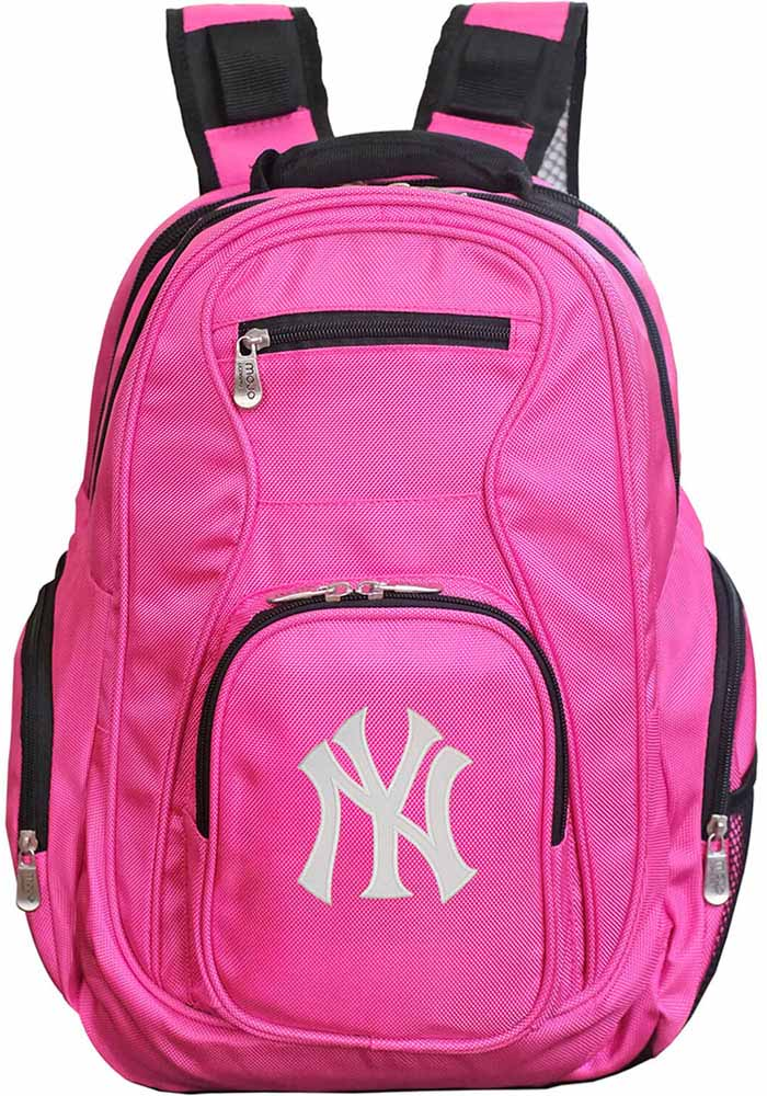 New York Yankees Pink 19 Laptop Backpack - Image 1