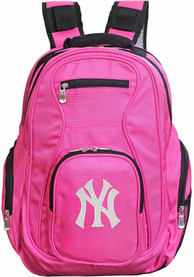 New York Yankees 19 Laptop Backpack - Pink