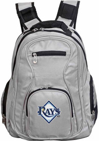 Tampa Bay Rays 19 Laptop Backpack - Grey