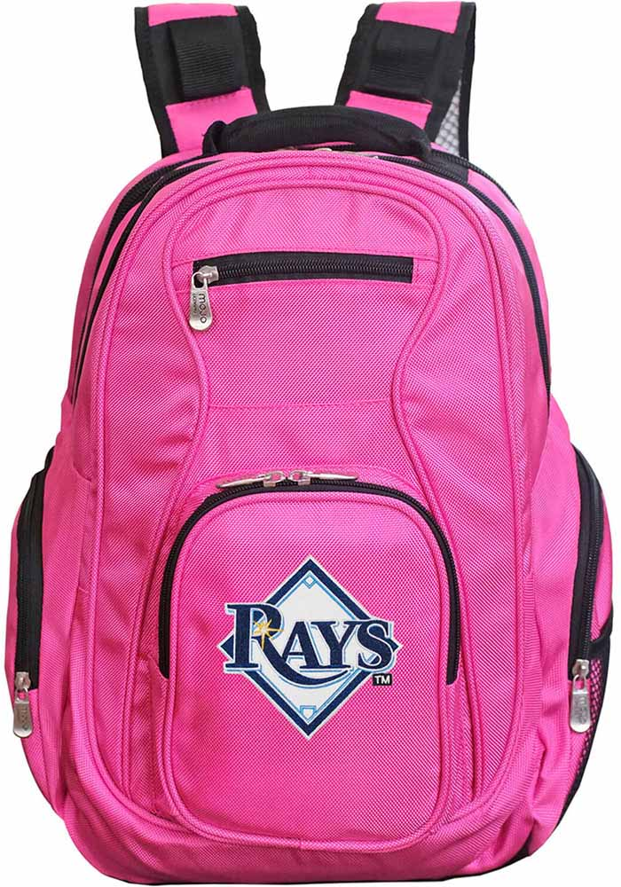 Tampa Bay Rays Pink 19g Laptop Backpack - Image 1