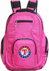 Texas Rangers 19 Laptop Backpack - Pink